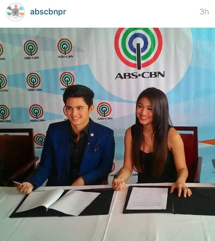 James Reid And Nadine Lustre Sign New Contract With ABS CBN Starmometer