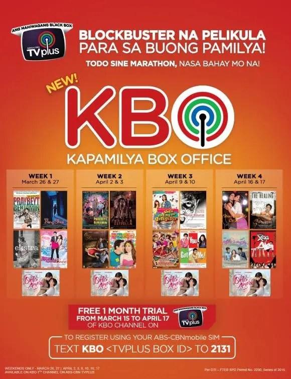 MGA dating palabas SA ABS CBN