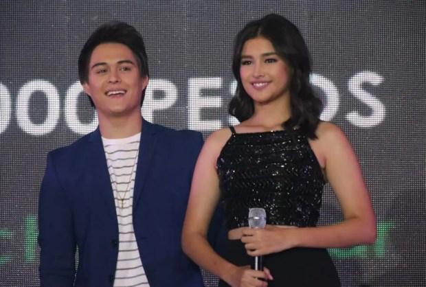 Enrique Gil and Liza Soberano at ABS-CBN Gabi ng Pangarap Trade Event