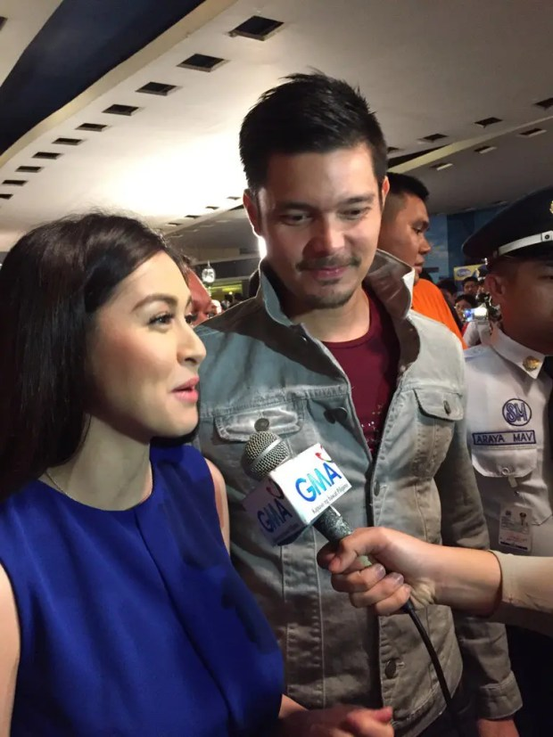 Dingdong Dantes and Marian Rivera (Source: @MAINEsters_Cal