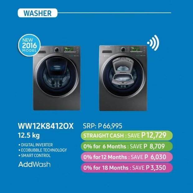 Samsung Flexi Home Deals Washing Machine
