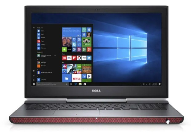 Dell Inspiron 15 7000 Series (Model 7566) notebook computer, codename Firelord.