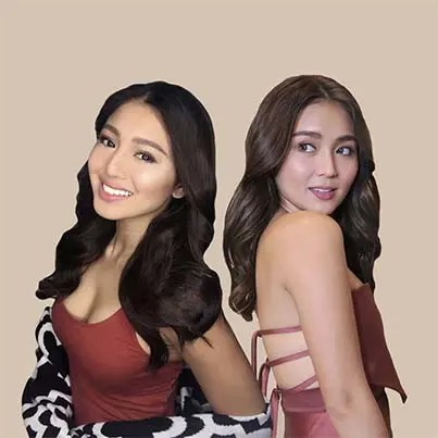 Nadine and Kathryn Mega