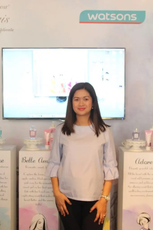 Sharon Presbitero-Decapia Watsons Group Marketing Manager for Beauty