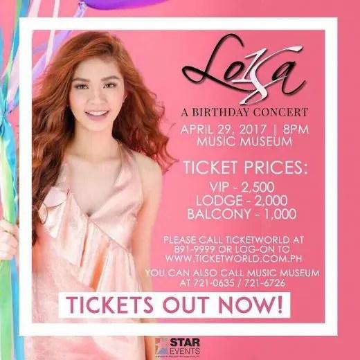 Loisa Birthday Concert