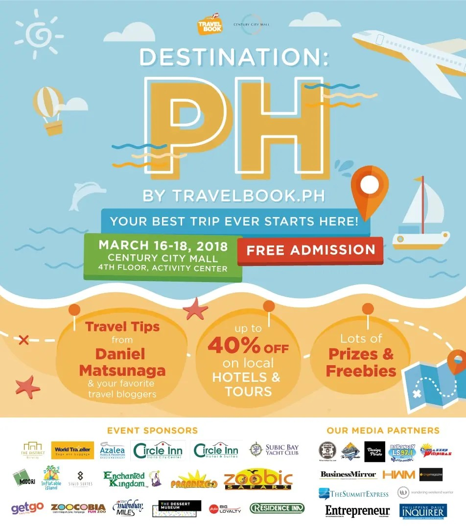 Destination PH: TravelBook.ph Launches its First Travel Fair