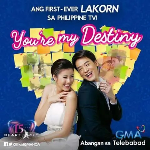 Lakorn 'You're My Destiny' is First Thai Drama to Air on