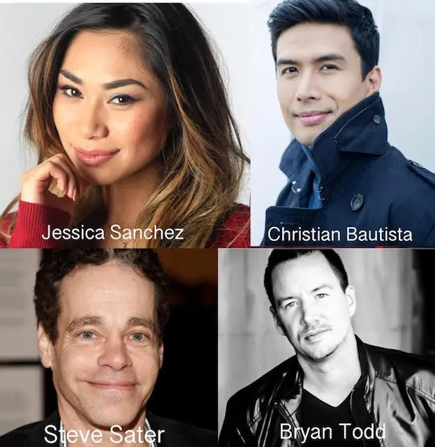 Jessica Sanchez Collaborates With Christian Bautista In Another Silent Christmas Song