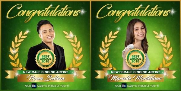Tawag ng Tanghalan' Named Most Successful Singing-Talent