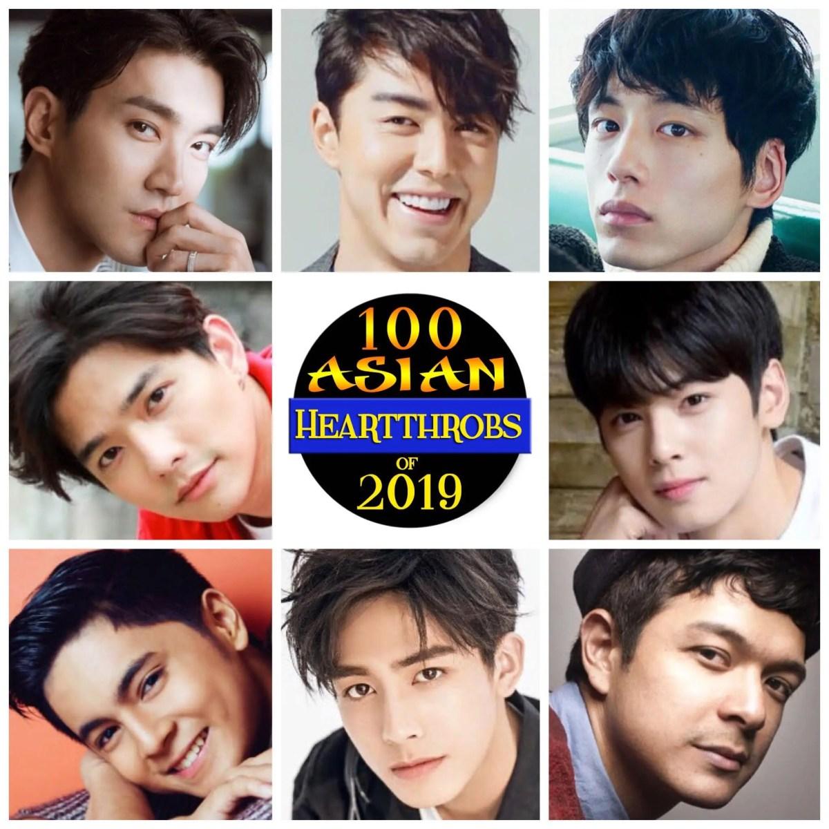The 100 Group: Poll: 100 Asian Heartthrobs 2019 – Group 10