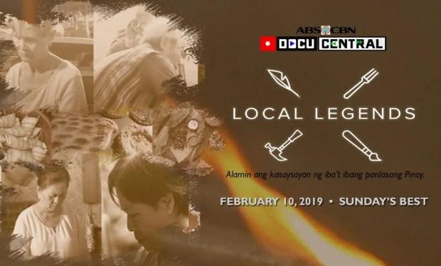 Local Legends' Celebrates Filipino Cuisines on Sunday's Best