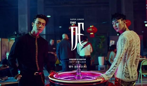 Super Junior D&E Debuts 'Danger' While BTS is Conquering