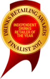 Winner of Drinks Retailing Award - 2017