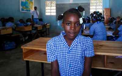 Wooddaina i Haiti