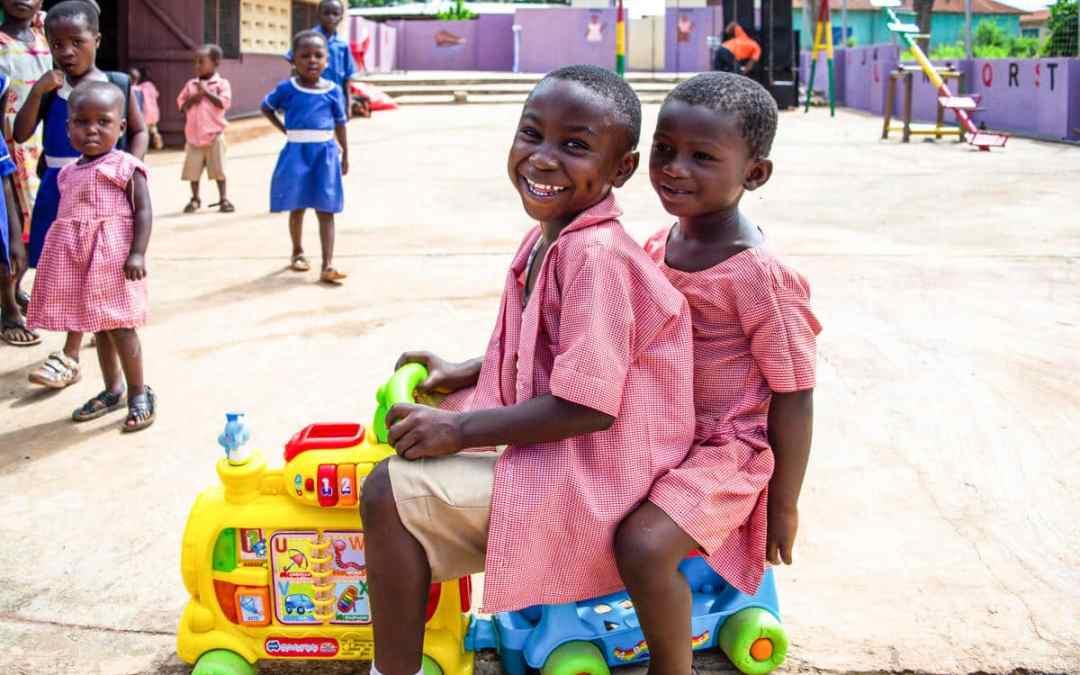 Uppgradering i Kobeng, Ghana