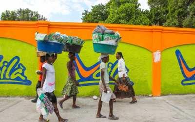 Haiti – lunchen hotad