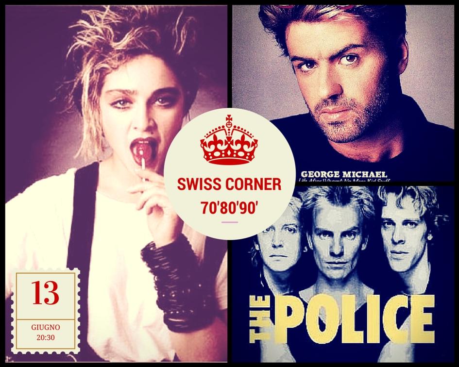 Milano SWISS corner locale milano da bere I LOVE '70 '80 '90 ballare