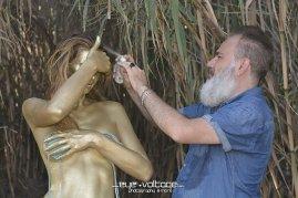 Body painting Arturo bianco body art
