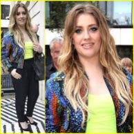 Ella henderson cantante stile celebrity look x-factor simon cowell gost
