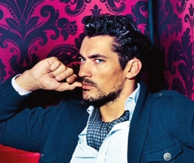 Ascot moda uomo fashion David gandy dolce e gabbana d&g