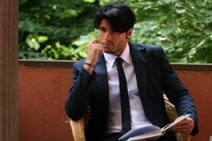 Copertina: il modello Luca Onestini