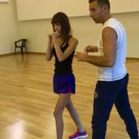 PALCOSCENICO: Adua Del Vesco si allena con Andrea Carollo