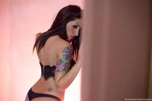Copertina: la modella Marinella Mazzola