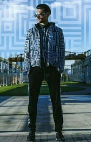 Copertina: il modello Andrea Zelletta