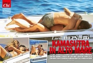 Gossip: Luca Argentero vacanze passionali con Cristina Marino