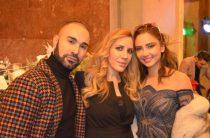 Luigi Rizzello, Francesca Borneo e Patricia Gloria Contreras