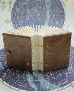 Black Walnut Coptic Stitch Blank Journal
