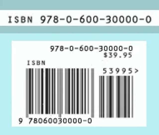 An Isbn And A Bookland Ean Book Barcode