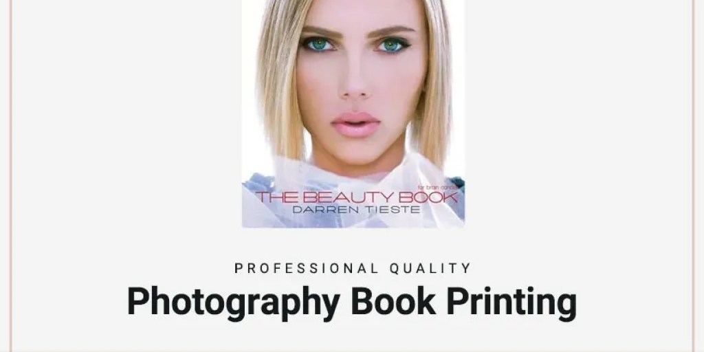 Professional quality photo book printing and photography book printing.