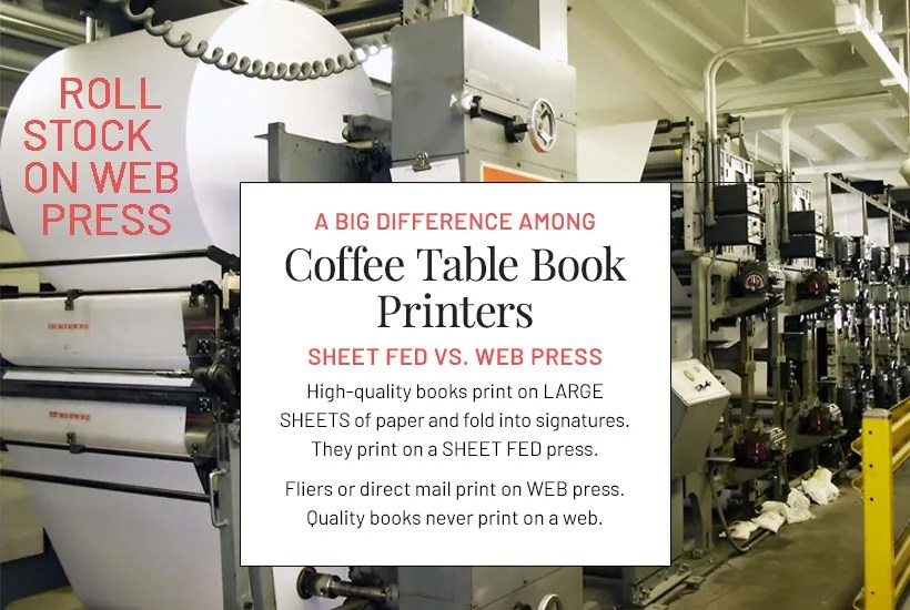 The Coffee Table Book Printers for Self Publishers