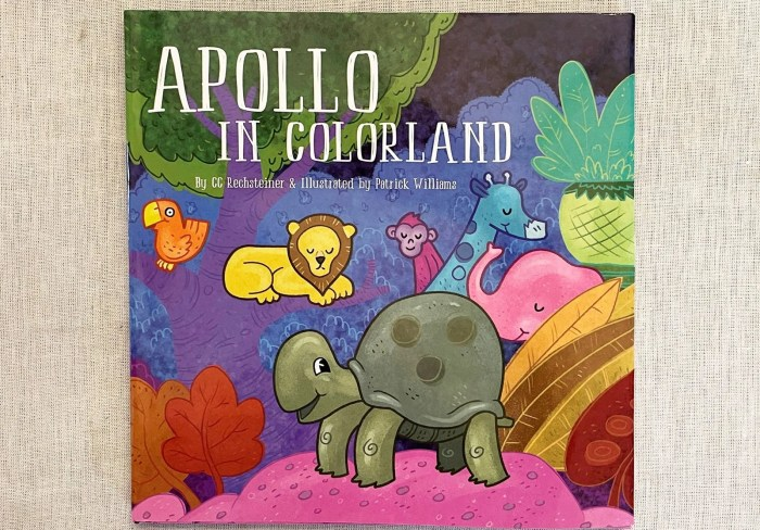 Apollo in Colorland by CC Rechsteiner and Illustrated by Patrick Williams.