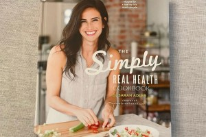 The Simply Real Health Cookbook by Sarah Adler.