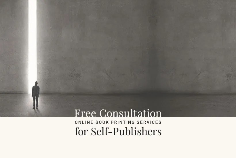 Online book printing services, free consultation.