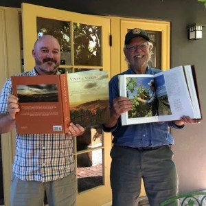 Showing off the Vines & Visions book