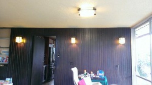 Dining room with new and restored lights2