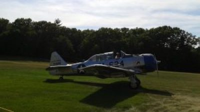 T-6 trainer at Collings Foundation