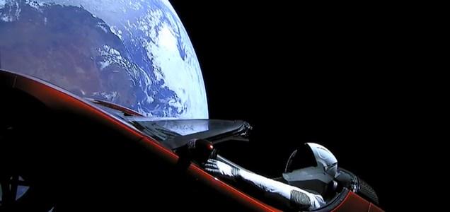 Tesla Roadster Asteroid Bound!