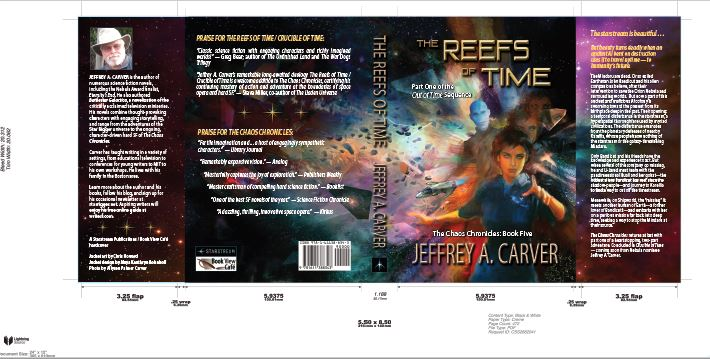 Reefs of Time hardcover layout