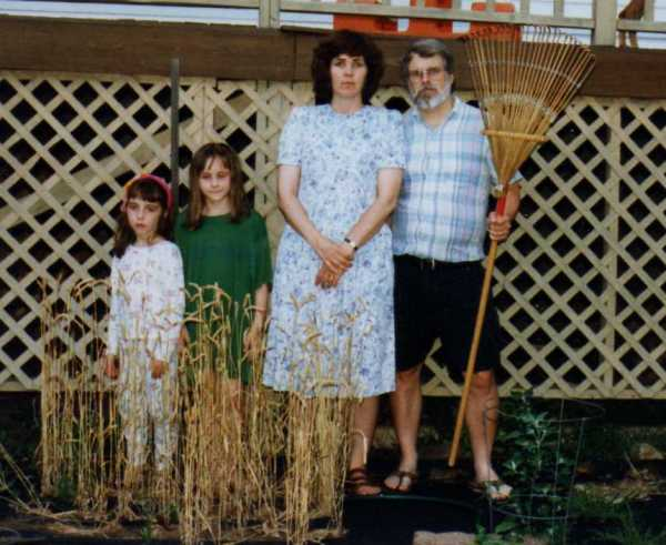 Carver Gothic with wheat crop