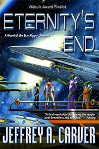 Eternity's End cover art by Stephen Youll