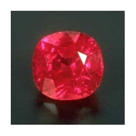 Pink Faceted Ruby from Vietnam