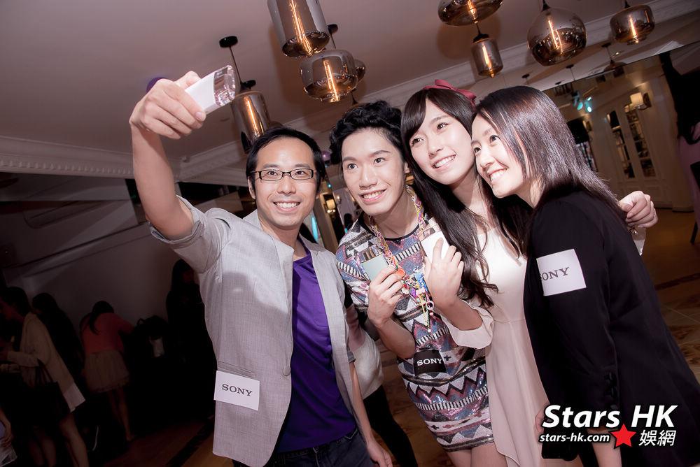 星級名人分享 Sony Selfie的樂趣 (附圖輯) - STARSHK