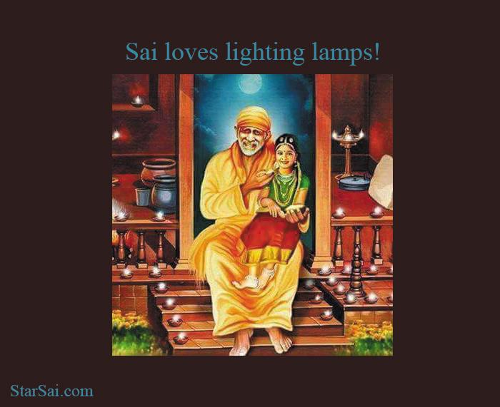 Saibaba lamps