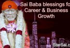 Shirdi Sai Baba blessings for promotion and Career growth