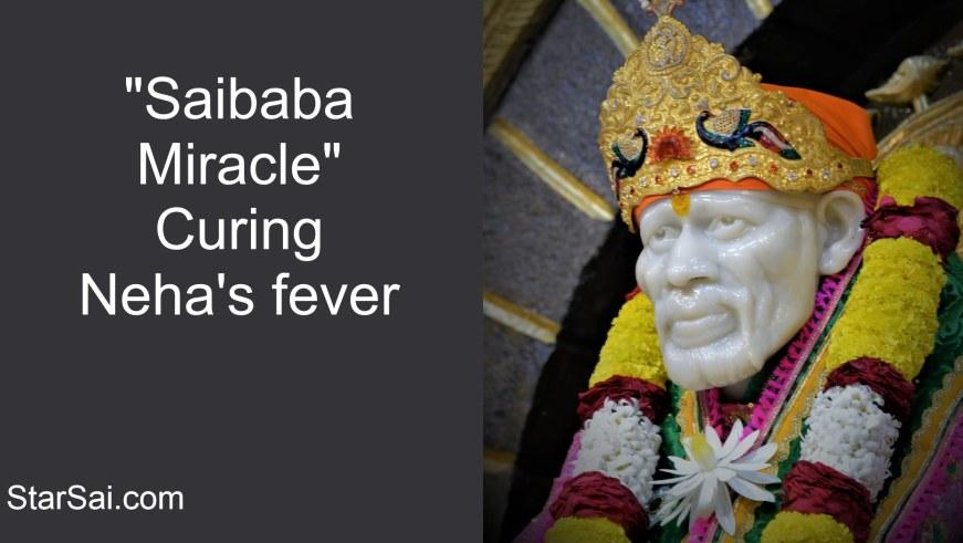 Shirdi Sai Baba cures fever