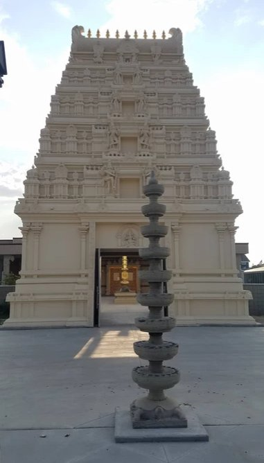 Beautiful Gopuram of Utah Ganesha Temple,USA